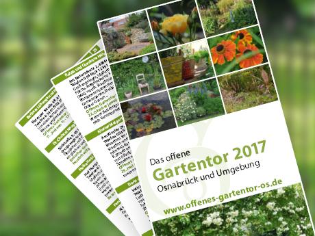 Laden Sie hier das aktuelle Programm des Offenen Gartentor in Osnabrück herunter